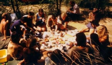 Ost-West-Treffen Pannonhalma 1987