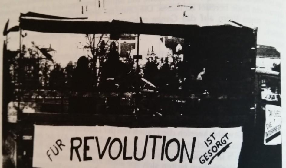 für revolution ist gesorgt