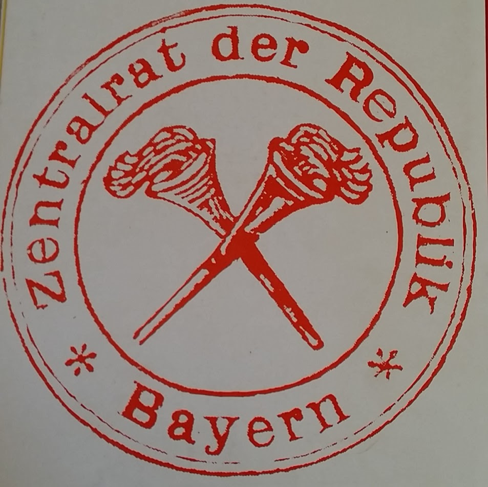 stempel zentralrat Republik Bayern