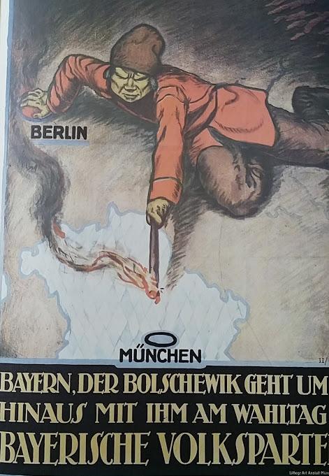 Plakat Bayrische Volkspartei