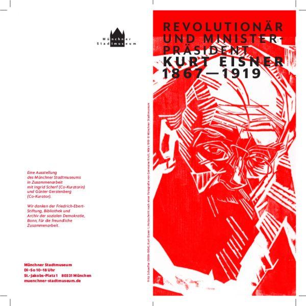 EINLADUNG 150. Geburtstag Kurt Eisner Stadtmuseum München