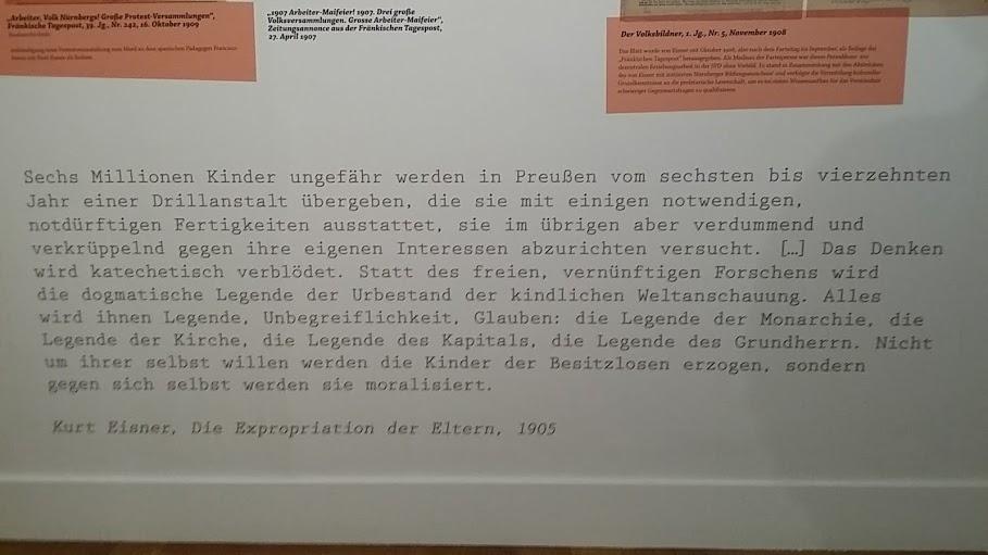 Drillanstalt Kurt Eisner 150 Jahre