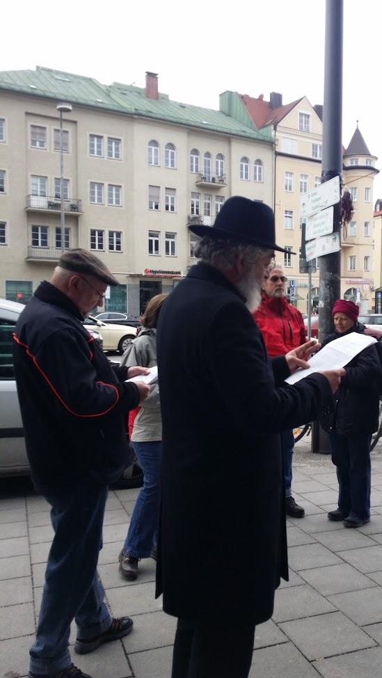 Eisner-Auftritt Münchner Freiheit