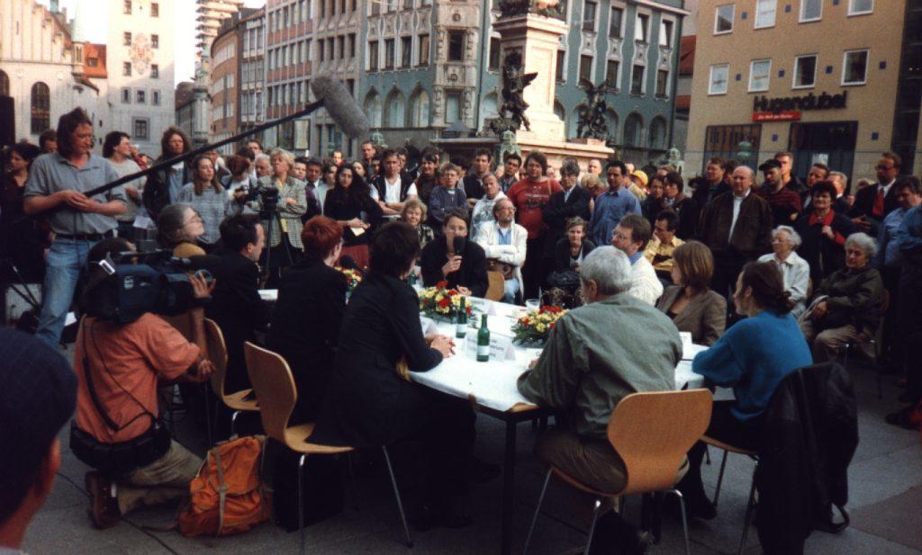 diskussion Marienplatz 1998