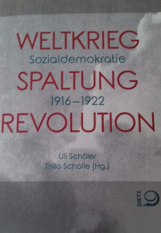 Weltkrieg-Sozialdemokratie Buchtitel