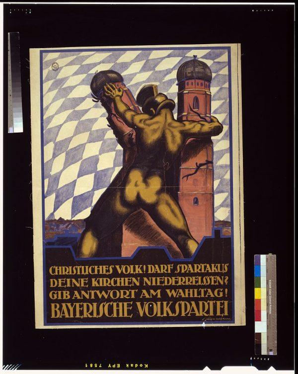 Rechte Propaganda in Baiern