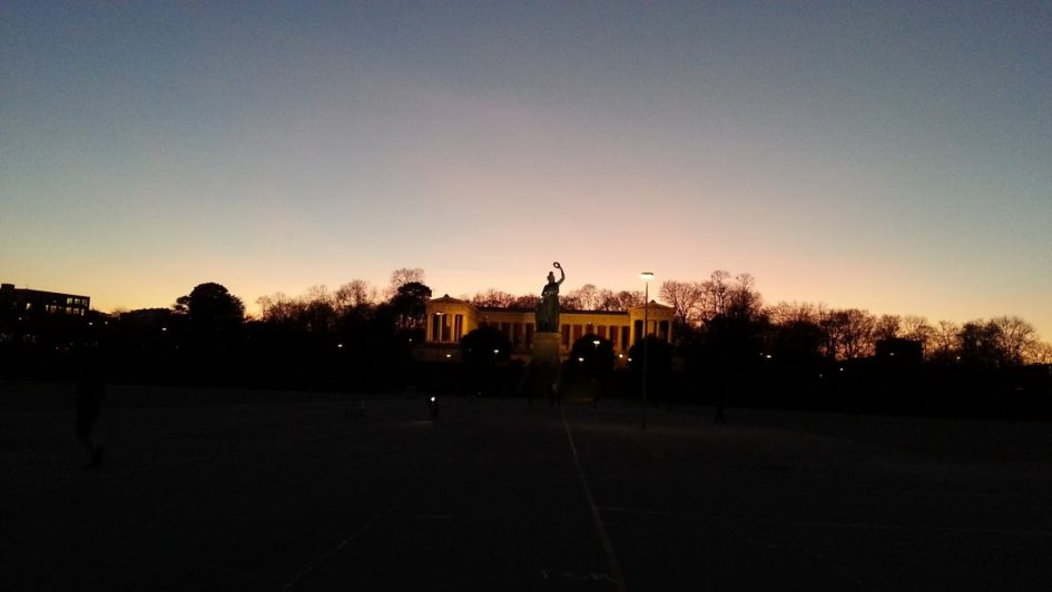 Bavaria-Sonnen-Untergang
