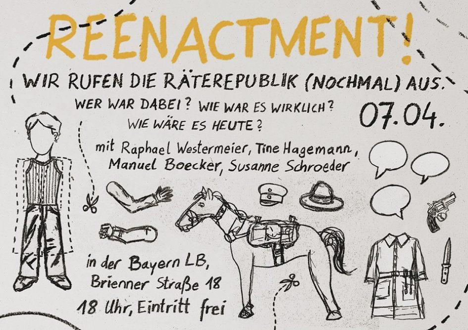 reenactment Räterepublik München