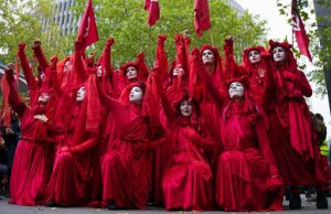 Red Rebels Extinction Rebellion