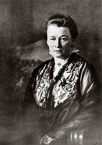 Ellen Ammann (1870-1932); Foto um 1920