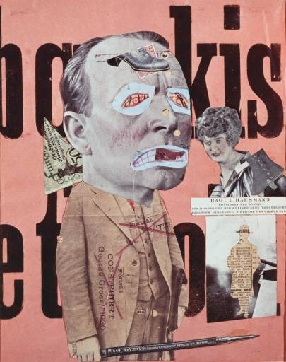 Hausmann__art_critic_1919 DADA