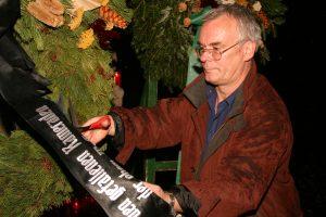 Hans Türk dokumentierte viele antifaschistische Aktionen: Foto oben von Wolfram Kastner, 2005 Foto: Eric Jouvenel