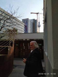 Hans Türk 2019 in Berlin